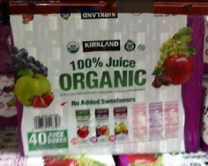 Kirkland Juice Drink. Variety Pack (6.75oz / 40pk) 3 fruit flavors.   f