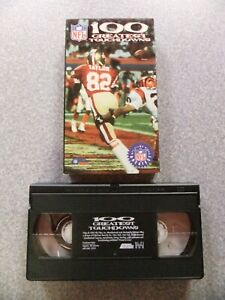 L#972  NFL Films 100 Greatest Touchdowns video-Drew Pearson, Joe Montana, Franco