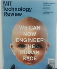 MIT Technology Review May June 2015 Engineer the Human Race FREE SHIPPING sb