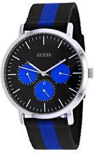 Guess Men's Slate Quartz Chronograph Stainless Steel/Nylon Watch W1045G1