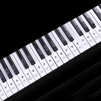 Removable Color Piano Music Keyboard Sticker For 49, 54 ,61or 88 Key Piano