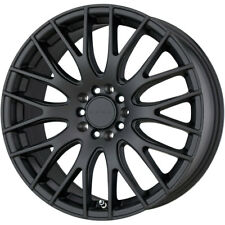 "18X7.5 45 5X100//114.3 DRAG DR-35 BLACK WHEELS//RIMS 18/""INCH 22870 1"