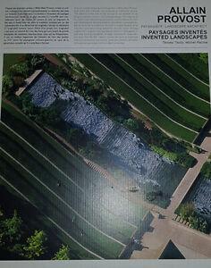 Allain Provost Paysagiste Paysages Inventes '64-'04
