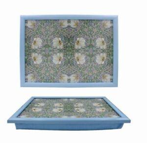 Cushion Lap Tray Pimpernel Design William Morris Bean Bag Laptray Dinner Tray