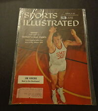 Sports Illustrated February 18, 1957 Jim Krebs, Gail Delozier, Tigers Feb '57