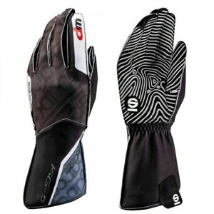 SUPER OFFER!! SPARCO MOTION KG-5WP Karting Gloves KG5 Kart Race Water Resistant