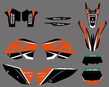 MX Graphics Deco Decals For KTM XC 200 250 300 2008 2009 2010 SX 150 2009 2010