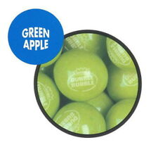 "850 Green Apple 1"" Dubble Bubble Gumballs Fresh Bulk Vending Gum Ball Party"