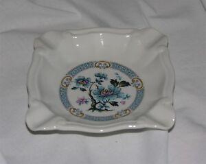 Limoges Fontanille Marraud Porcelain Ashtray Floral
