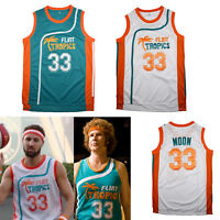 Jackie Moon #33 Semi Pro Costume Basketball Jersey Flint Tropics Will Ferrell