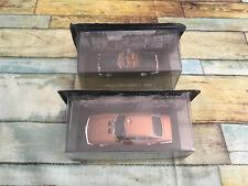 Voiture Miniature Lot de 2 Voitures d'Autrefois Monica 560 Facel Vega au 1/43