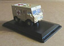 OXFORD DIECAST LAND ROVER 101 FC AMBULANCE GULF WAR 1991 1:76 SCALE MEDICAL CORP