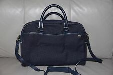 """TUMI  Small Blue Laptop  Brief Business Briefcase 13"""" Computer Bag"""