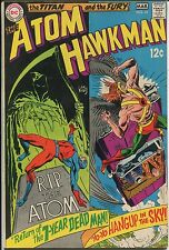 """Atom+Hawkman #41 - """"Return Of The 7 year Dead Man & Hang up In the Sky""""- (6.0)WH"""