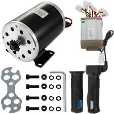 1000W 48V Electric Motor Kit w/ Base Speed Control & Thumb Throttle for Scooter