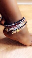 african bead Colourful beaded anklet