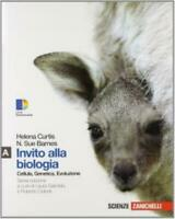 INVITO ALLA BIOLOGIA VOL.A ZANICHELLI SCUOLA, CURTIS, CODICE:9788808247100