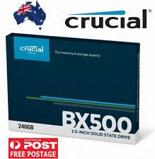 "Crucial 240GB SSD 2.5"" BX500 3D NAND SATA Solid State Drive SATA III 540MB/s"