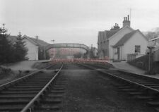 PHOTO  STRATHCARRON RAILWAY STATION VIEW IN THE 1960'S 1