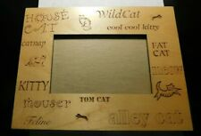House Cat Wild Cat Cool Cool Kitty Fat Cat Mouser Meow Picture Frame! Ff303Xxx