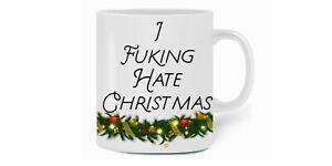 I F****g Hate Christmas mug