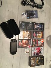 Sony PSP 1003 With 9 Games 2 Videos Case Charger And 1gb Memory Stick