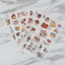 6X sweet doughnut Adhesive Stickers DIY Decors Diary Stationery Sticker kid X