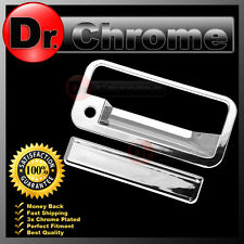 95-99 Chevy Tahoe+95-99 GMC Yukon Chrome ABS Tailgate with Keyhole Handle Cover