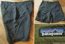 vtg PATAGONIA cienega shorts nylon hiking camp quick dry olive green mens 38 xl