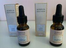 2 Aurelia Probiotic Skincare Cell Repair Night Oil 15ml deluxe travel size NIB