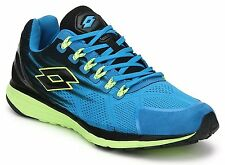 Lotto Men's Windride 50 % OFF Royal, Black and Lime Running Shoes - 9 UK/India