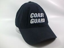 116975234c6c Coast Guard Spell Out Hat Dark Blue One Size Stretch Fit Full Back Baseball  Cap