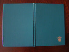 NOS Vintage 60s 70s Rolex Green Document Holder Perfect
