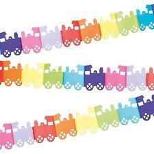 4m ARCOIRIS TREN INFANTIL cuarto del bebé fiesta Múltiples Colores Guirnalda