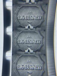 16mm Film LAUREL and HARDY BIG BUSINESS Blackhawk Short Film 1929