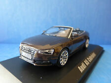 AUDI A5 CABRIOLET 2012 TEAK BROWN METAL NOREV 830110 1/43 MARRON ROADSTER