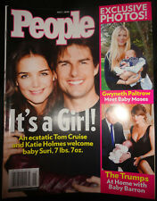 PEOPLE 5/2006 Donald Melania Barron Trump Prince Harry Emily Deschanel Rihanna