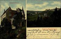 Schloss Sachsenburg bei Frankenberg Sachsen 1912 Burg Festung Verlag Stohn & Mey