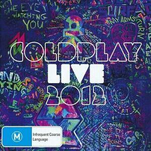 COLDPLAY Live 2012 CD/DVD BRAND NEW PAL Region 0