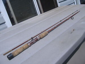 Fenton FS60 Ultralight 6 Ft. 2Pc. Spinning Rod 1970's