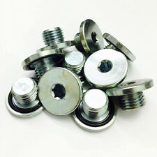 10 x Oil Pan Drain Sump Plug M14x1.5mm + Integral Washer - PN022