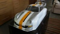 Carrozzeria body RC scala 1/5 PORSCHE 933 2MM + ALETTONE/SPOILER BOOT+ADESIVI