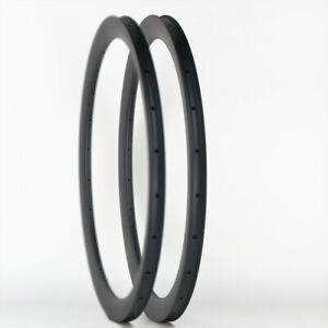 Sale! Premium Road Bike 40mm Depth 700C Carbon Rim Clincher Tubeless 1PAIR