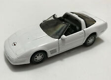 Maisto 1/39 scale Pull Back - 1999 Chevrolet Corvette - white
