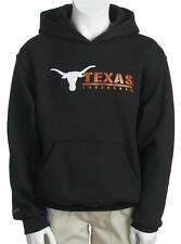 Jansport University Texas Longhorns Black Youth Fleece Hoodie Pullover Pocket S