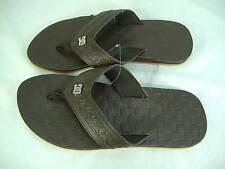 """New Mens 8 DC Shoes """"Gomez"""" Brown Leather Surfboard Sandals"""