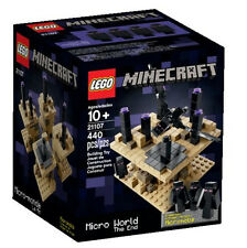 JUNE 2014 LEGO 21107 MINECRAFT MICRO WORLD: THE END  *NEW&SEALED, GREAT GIFT!