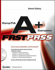 CompTIA A+ Complete Fast Pass, By Dulaney, Emmett,in Used but Acceptable conditi