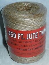 Jute Twine 450 ft Biodegradable All Natural Great For Gardening