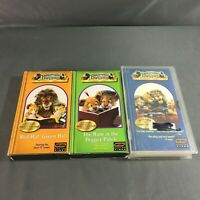 Lot of 3 Between The Lions VHS Tapes Rare HTF